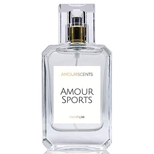 Amour Sports - Perfume alternativo inspirado en perfume, Extrait de Parfum, fragancias para hombres y mujeres (50 ml)