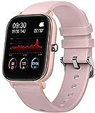 Smart Watch Bluetooth Sport Armband, Herzfrequenz, Schlaf, Blutdrucküberwachung, Outdoor-Sport, Multisport-Modus, Sport-Fitness-Tracker-Hell-Pink
