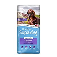 Burgess Supadog Mature is a tasty dry dog food for senior dogs ages 7 years and over. Suitable for all breeds. Made with ingredients to support digestive health. Biotin and zinc support skin and coat health. Glucosamine helps to support healthy joint...