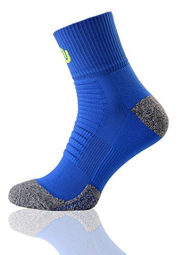 Nessi Chaussettes de sport su de chaussettes de course chaussettes de randonnée d'extérieur Chaussettes Chaussettes de randonnée chaud Vert Vert 45-47