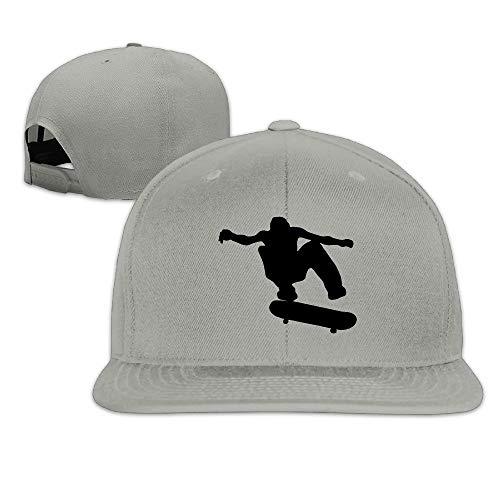 WefyL Unisex Skateboard Skater Adjustable Sunscreen Trucker Hat Sports Cap