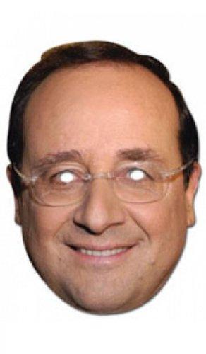 Accessoire Deguisement - Masques personnalités - Masque françois Hollande en Carton