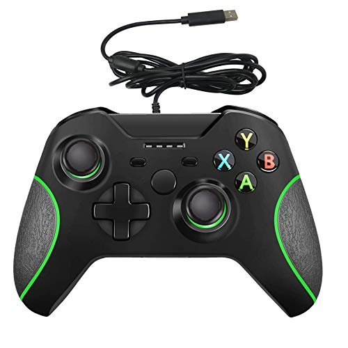 Wired Controller for Xbox One,YCCSKY Xbox One Wired Gaming Controller for Xbox One PC Windows 7/8/10,with Audio Jack Dual-Vibration Turbo