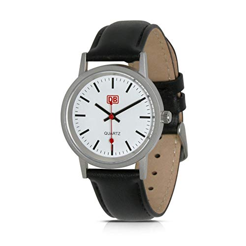 DB Herren Armbanduhr im Deutsche Bahn-Style