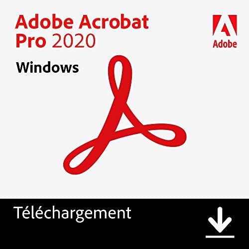 Adobe Acrobat | Pro | 1 Usager | PC | Code d'activation PC - envoi par email