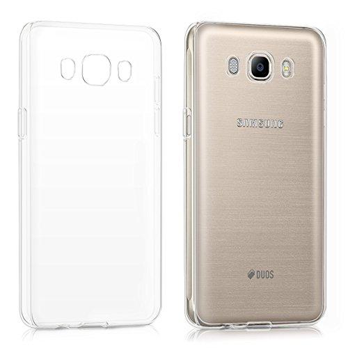 kwmobile Hülle kompatibel mit Samsung Galaxy J5 (2016) DUOS - Handyhülle - Handy Case in Transparent