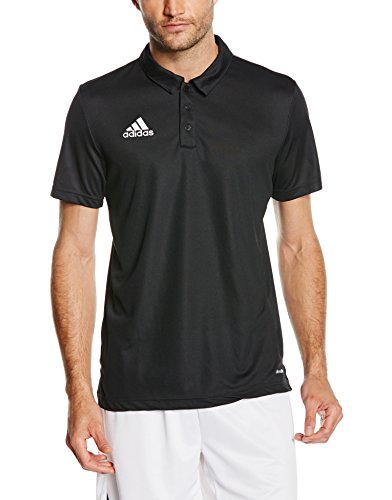Adidas Core 15 Poloshirt Homme, Noir/Blanc, FR : S (Taille Fabricant : S-46)