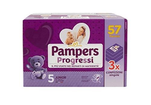 Pampers Progressi Junior Windeln Größe 5, 57 Stück - 3000 g