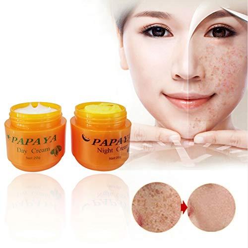 Symeas Hydratant crème blanchissante naturelle pour blanchir et améliorer la peau rugueuse et éclaircir la peau sombre pour la crème éclaircissante pour le visage
