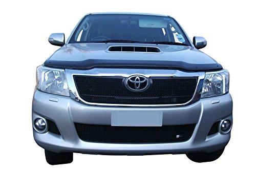 Zunsport Compatible avec Toyota HiLux - Ensemble calandre Avant - Finition Noir (2012 à 2015)