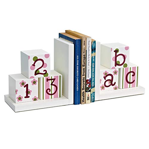 Desktop Buchstützen Digitales Englisch Kombi Bookends Fashion Style Bookends for Schule Bibliothek Bücherregal Home Office Dekoration Haus Dekoration Bookends