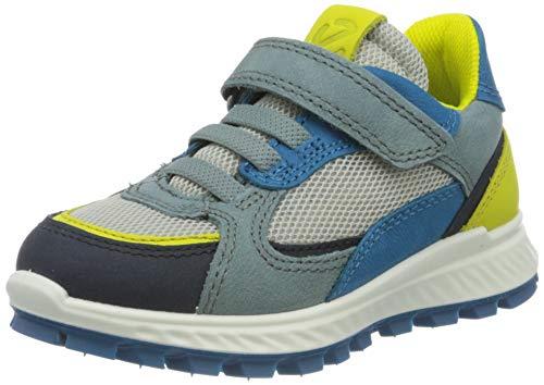 Ecco Jungen EXOSTRIKEKIDS Sneaker, Mehrfarbig (Night Sky/Sulphur/Trooper/Ol. Blue 51905), 29 EU