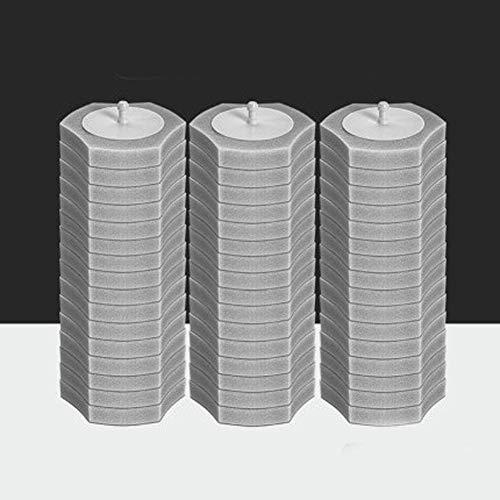 LCZ Toilettenbürste Einweg-Toilettenbürste WC Scrubber Smart-WC-Bürste Mit Hölder-Weiß Einweg-Upgraded Modernes Design WC-Reinigungs-Kit,C