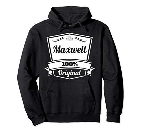 Maxwell Geschenk / Maxwell personalisierter Name Geburtstag Pullover Hoodie