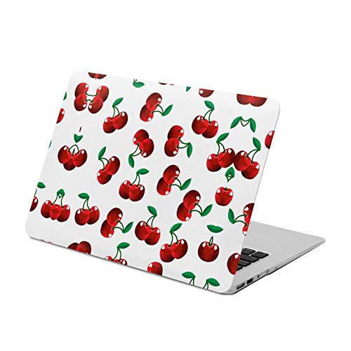 MacBook Air 13 inch Case 2020 2019 2018 Release A2179 A1932,Two Cherry Together,Plastic Hard Shell with Keyboard Brush, Only Compatible with MacBook Air 13 inch
