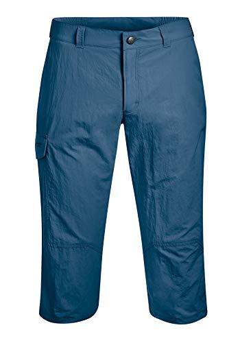 Maier Sports Pantalon Outdoor 3/4 Pantalon de randonnée Jens , Taille élastique, séchage Rapide et imperméable - ensign blue - 56