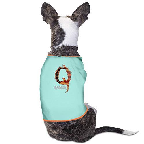 Jiaojiaozhe Trump is Q Anon Pet Service Pet Clothing Funny Dog Cat Costume Tshirt Sky Blue