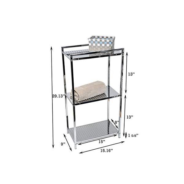 Tendance – Mueble bajo con 3 estantes rectangulares