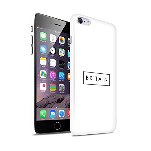 Stuff4® Phone Case/Cover/Skin/IP-3DSWG/Great Britain/British Pride Collection Apple iPhone 6+/Plus 5.5 Logo/stempel