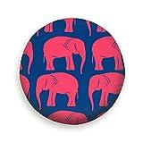 Housses de Protection pour pneus de Voiture, Retro Pink Elephants Animals Elephant...