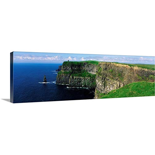 Cliffs of Moher, County Clare, Ireland Canvas Wall Art Print, 60