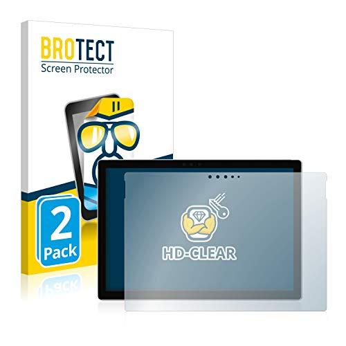 BROTECT Schutzfolie kompatibel mit Microsoft Surface Pro 6 2 Stuck klare Displayschutz Folie