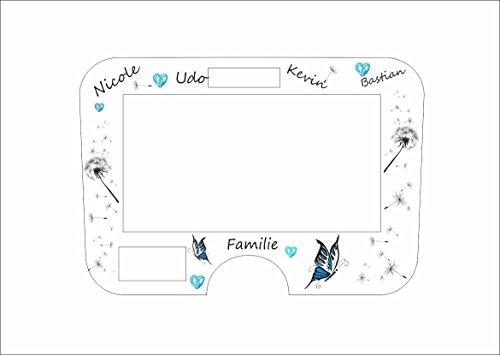 Displayschutzfolie für Monsieur Cuisine Connect Familie türkis