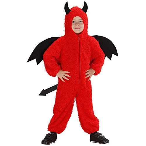 Per bambini Diavolo Costume DEVIL GIRL Satana Halloween Vestito 158Cm