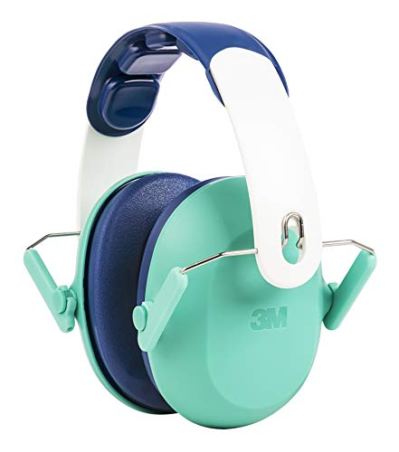 3M Kids Hearing Protection, Hearing Protection for Children with Adjustable Headband, Green, 22dB Noise Reduction Rating, Studying, Quiet, Concerts, Events, Fireworks, For Indoor and Outdoor Use