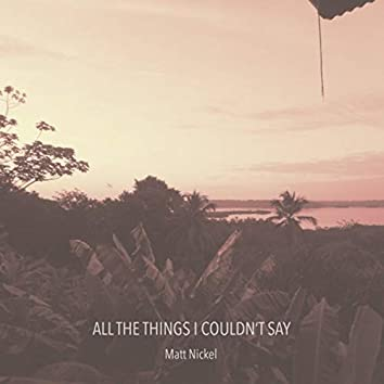 All The Things I Couldn't Say