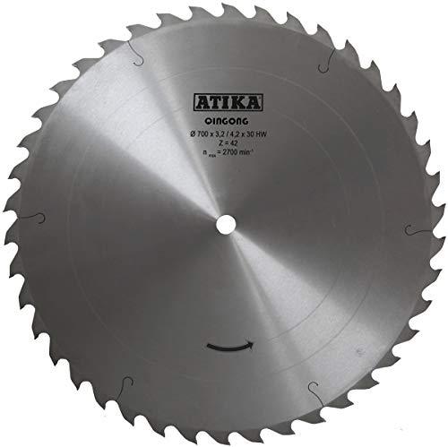 LESCHA ATIKA Ersatzteil | Sägeblatt Hartmetall für Wippkreissäge BWS 700 N/WSL 700 / WSL 700 PTO