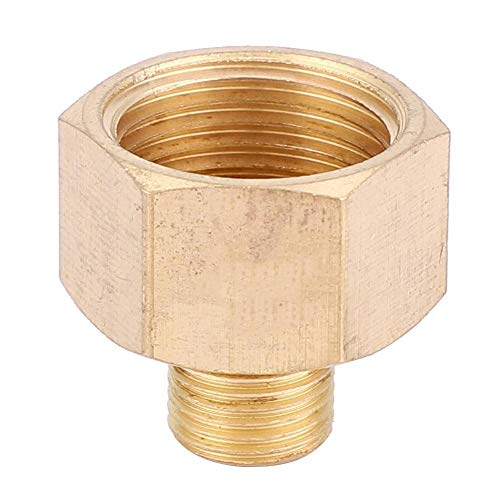 5 stuks messing BSPP binnendraad op buitendraad buisschroefverbindingen snelkoppeling voor snelkoppeling (1:3 (G1/8:G3/8)).