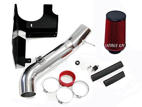 Red Fit 2001-2004 Chevrolet Silverado/GMC Sierra 2500HD 3500 6.6 6.6L Duramax Turbo Diesel Heatshield AIR Intake KIT Systems