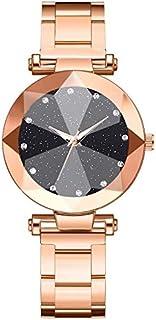 Wristband Women Watch Sale Clearance - Women's Analogue Quartz Wrist Watch Starry Sky Convex Glass Quartz Mesh MultiAngle ...