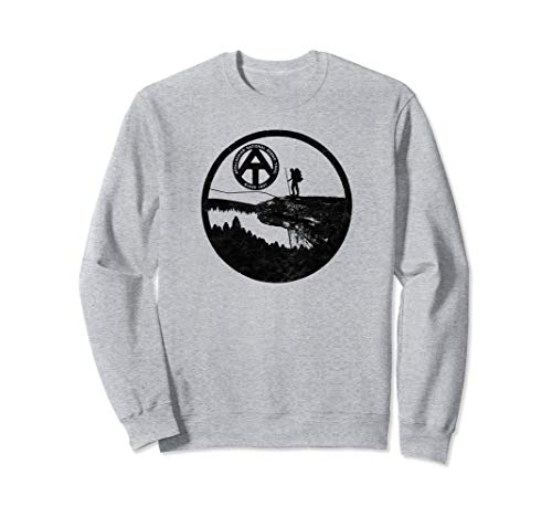 Appalachian Trail Hiker - McAfee's Knob Sweatshirt