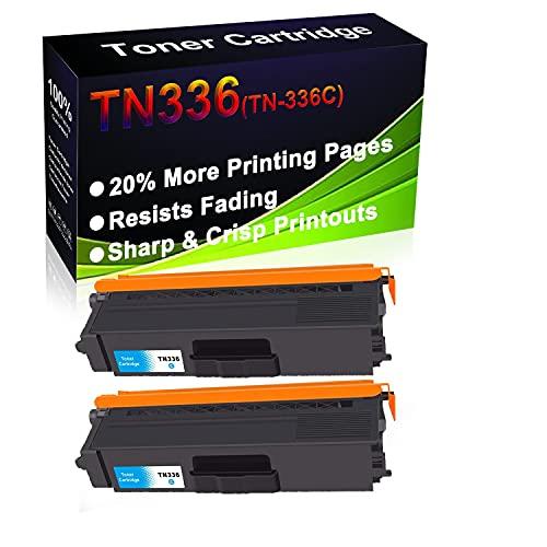 Cartucho de tóner láser HL-L8250CDN HL-L8350CDW HL-L8350CDWT MFC-L8850 MFC-L8850CDW (alta capacidad) para impresora Brother TN336 (TN-336C)