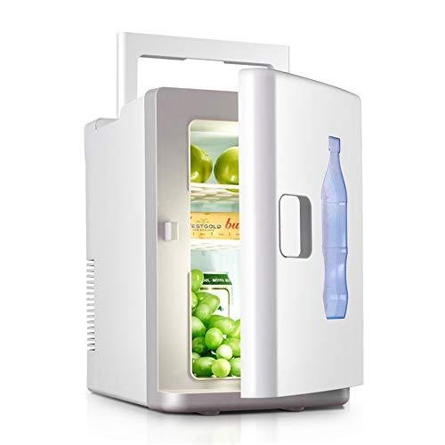 Mini Nevera XYBB Mini refrigerador Auto Refrigerador portátil Refrigerador Calentador Pequeño congelador Coche Inicio Daul-use Blanco 220 * 320 * 340 mm