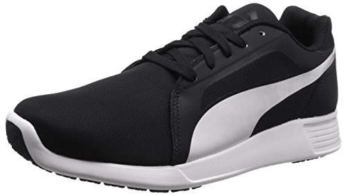 Puma St Trainer Evo, Zapatillas Unisex, Negro (Black-White 01), 44 EU (9.5 UK)