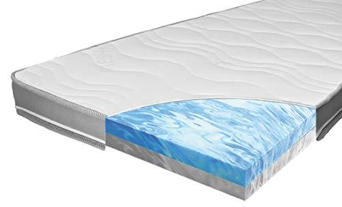 ARBD Matratzenauflage - Topper | Modelle mit 7-12cm Gesamthöhe | waschbarer Bezug mit 3D-Mesh-Klimaband (H2/H3 Duo XXL - 12cm, 180 x 200 cm)
