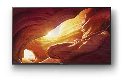 Sony KD-43XH8505 Bravia 108 cm (43 Zoll) Fernseher (Android TV, LED, 4K Ultra HD (UHD), High Dynamic Range (HDR), Smart TV, Sprachfernbedienung, 2020 Modell) Schwarz