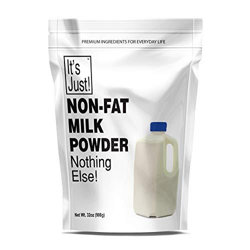It's Just - Non Fat Milk Powder, Instant Milk, Made in USA, 32oz
