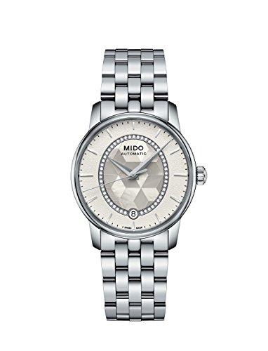 Mido Reloj Analógico para Mujer de Cuarzo con Correa en Acero Inoxidable M0072071111600
