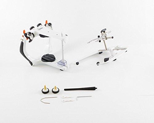 BioArt Dental Articulator - A7-Plus Semi-Adjustable Articulator with Standard Face Bow & Case