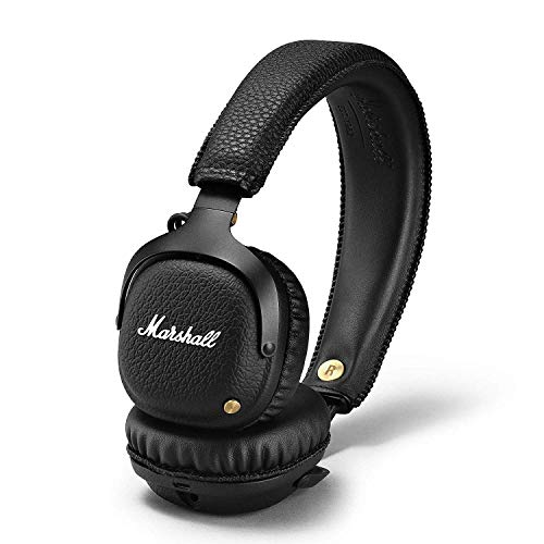 Marshall Mid Bluetooth Wireless On-Ear Headphone, Black...
