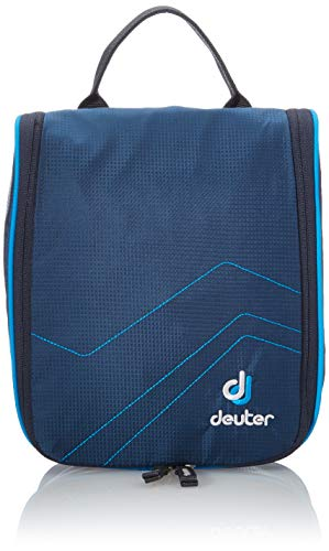 Deuter Kulturtasche Wash Center I Kulturbeutel, Midnight-Turquoise, 22 x 19 x 8 cm