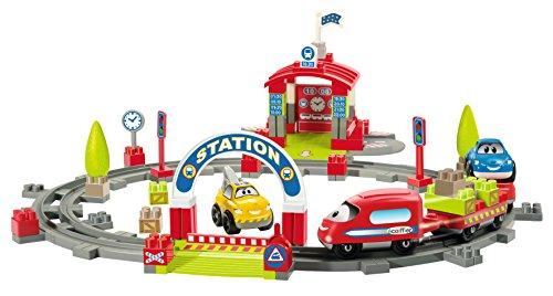 Écoiffier - 3071 - Jeu De Construction - Gare Fast Car