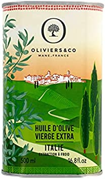 Oliviers & Co Extra Virgin Italian Olive Oil 500 ml Can