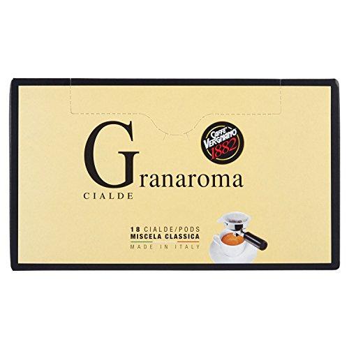 Caffè Vergnano 1882 Cialde Miscela Classica - [2 confezioni da 18 cialde - totale 36 cialde]