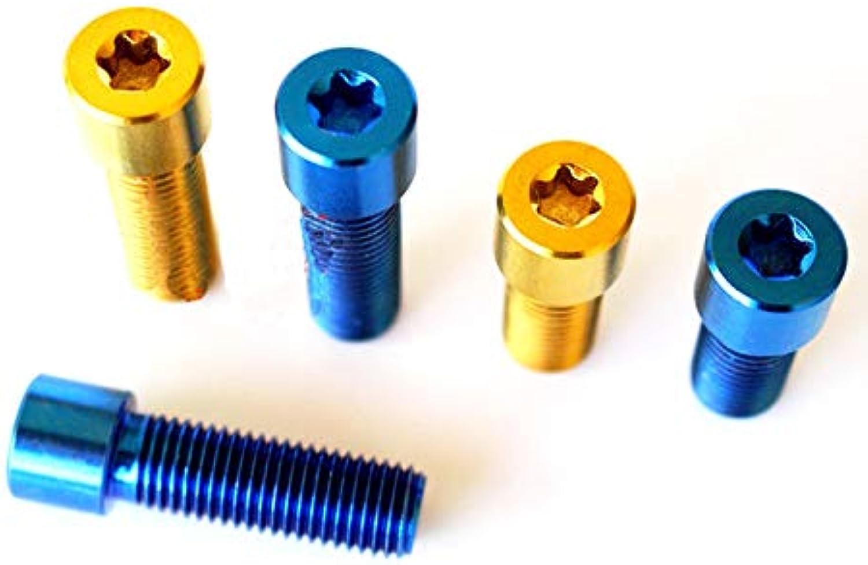 FidgetFidget 4pcs M10 x 20 30mm Bolts Screws Small Cylinder Torx Cap Head 1.25