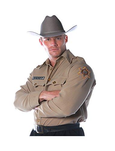 UNDERWRAPS Costumes Herren Sheriff Kostüm - Hemd - Mehrfarbig - XX-Large